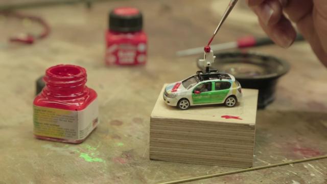 Google dùng xe Street View tí hon để quay phim thành phố mô hình, kết quả thu được cực kỳ tuyệt vời - Ảnh 1.
