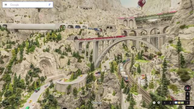 Google dùng xe Street View tí hon để quay phim thành phố mô hình, kết quả thu được cực kỳ tuyệt vời - Ảnh 4.