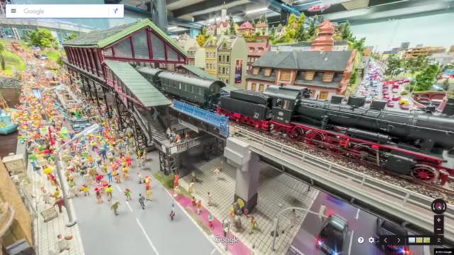 Google dùng xe Street View tí hon để quay phim thành phố mô hình, kết quả thu được cực kỳ tuyệt vời - Ảnh 18.