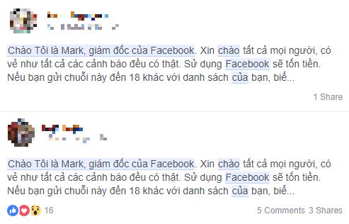 Những cảnh báo về Facebook mất phí sử dụng đều là giả mạo - Ảnh 3.
