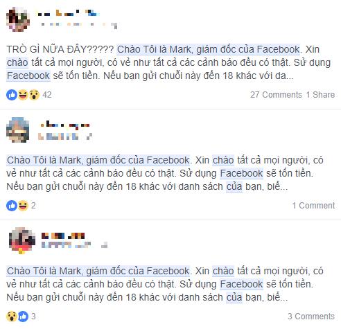 Những cảnh báo về Facebook mất phí sử dụng đều là giả mạo - Ảnh 4.