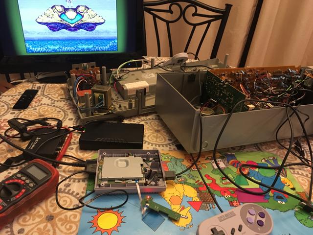 Game thủ 8x độ máy cát xét cũ thành máy chơi SNES cực kỳ chất - Ảnh 2.