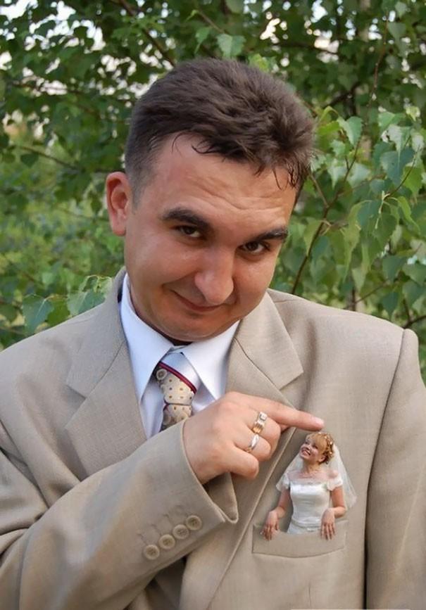 [Vui] Tổng hợp những ý tưởng chụp ảnh cưới độc dị nhất trên Internet - Ảnh 1.