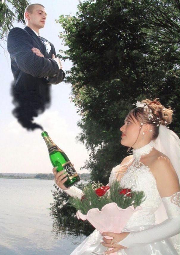 [Vui] Tổng hợp những ý tưởng chụp ảnh cưới độc dị nhất trên Internet - Ảnh 2.