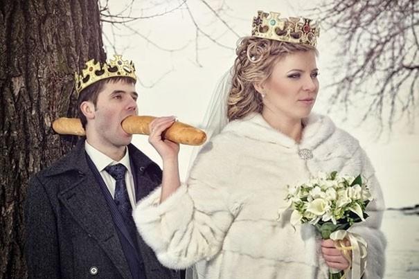 [Vui] Tổng hợp những ý tưởng chụp ảnh cưới độc dị nhất trên Internet - Ảnh 3.