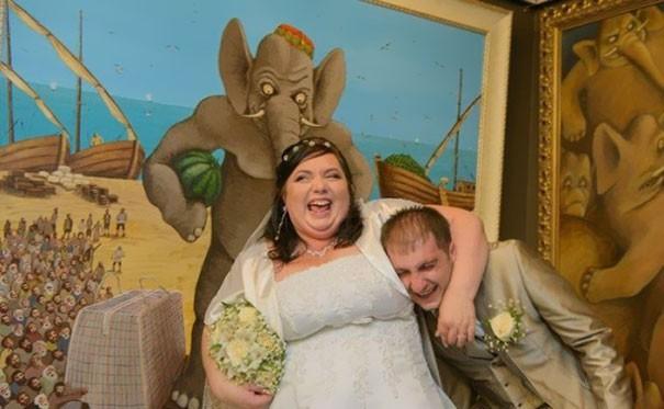 [Vui] Tổng hợp những ý tưởng chụp ảnh cưới độc dị nhất trên Internet - Ảnh 6.