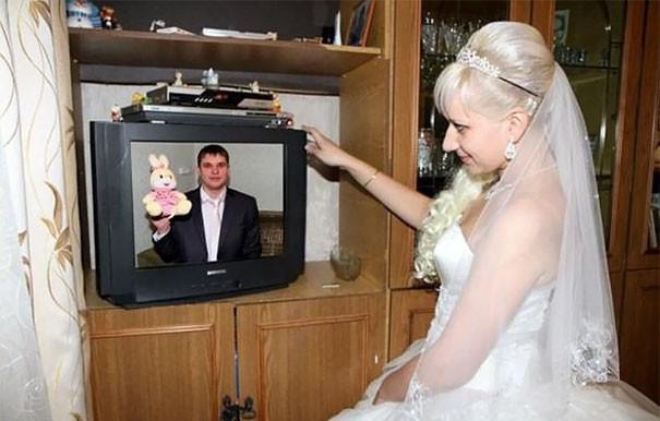 [Vui] Tổng hợp những ý tưởng chụp ảnh cưới độc dị nhất trên Internet - Ảnh 9.