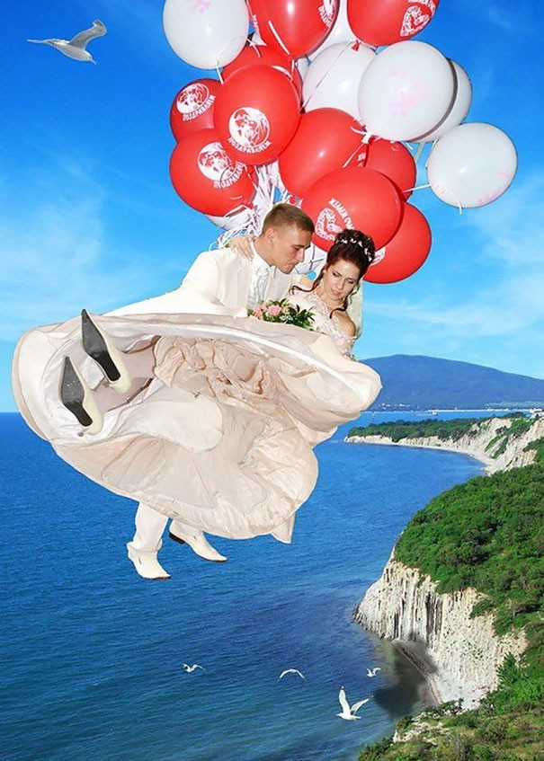 [Vui] Tổng hợp những ý tưởng chụp ảnh cưới độc dị nhất trên Internet - Ảnh 11.