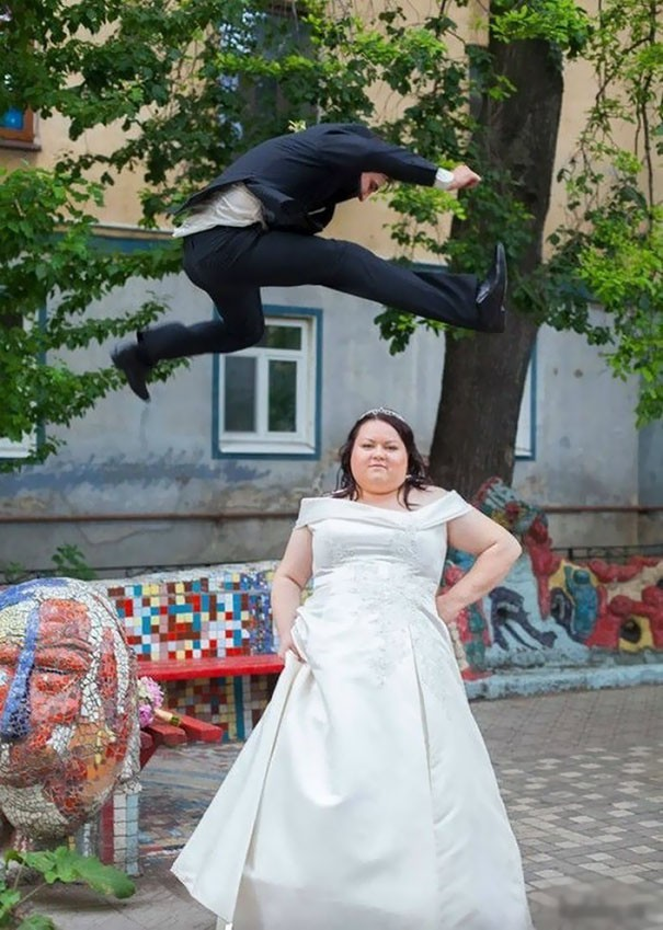 [Vui] Tổng hợp những ý tưởng chụp ảnh cưới độc dị nhất trên Internet - Ảnh 14.