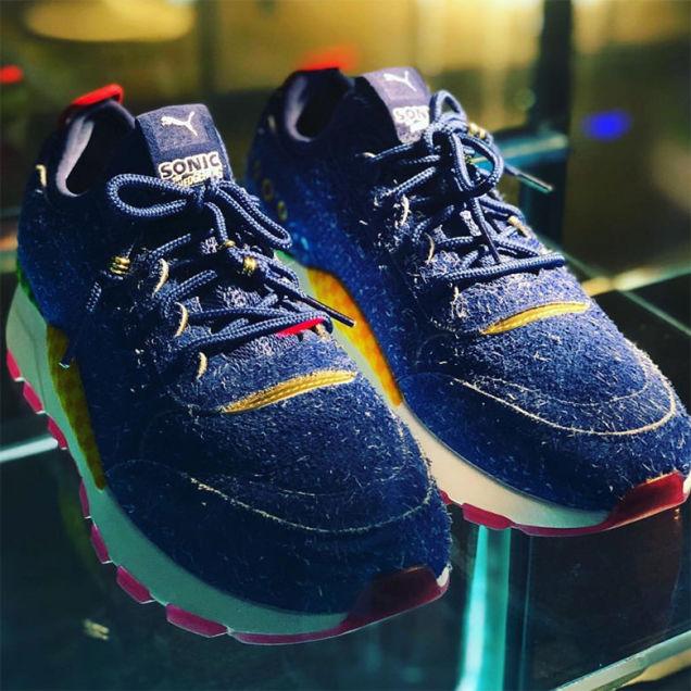 Lộ diện mẫu giày thể thao mới dành cho fan ruột của Sonic - Ảnh 4.