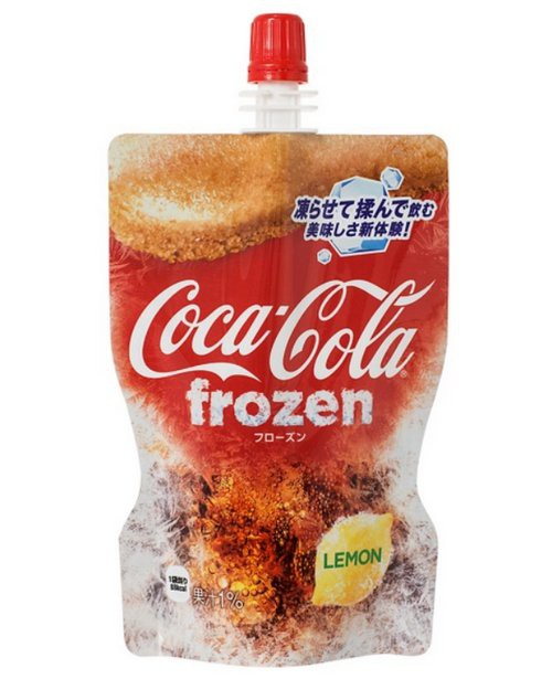 Coca-Cola ra mắt phiên bản đông đá đầu tiên trên thế giới, vừa bóp vừa mút như sữa chua túi - Ảnh 3.