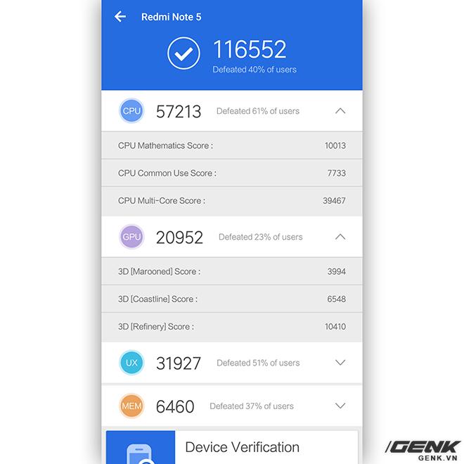 Đánh giá hiệu năng chơi game trên Redmi Note 5 Pro: Snapdragon 636 thể hiện ra sao trước PUBG, Liên Quân Mobile và Asphalt 8? - Ảnh 2.