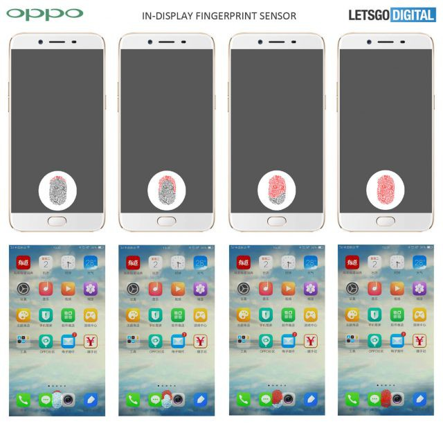 Oppo cũng chính thức theo đuổi công nghệ cảm biến vân tay tích hợp dưới màn hình với bằng sáng chế mới nhất - Ảnh 2.