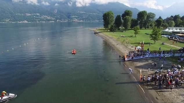 Biker liều lĩnh lập kỷ lục thế giới nhờ chinh phục hồ nước ngọt lớn thứ 3 tại Ý bằng motor hai bánh - Ảnh 5.
