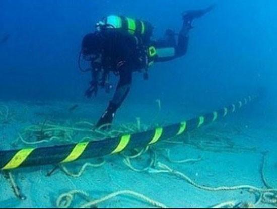 Tuyến cáp quang biển quốc tế APG vừa gặp sự cố lần thứ 3 trong năm nay, vào 23h50 ngày 23/4 tại cáp vào trạm cập bờ Chongming/APG/China (Ảnh minh họa. Nguồn: Internet).