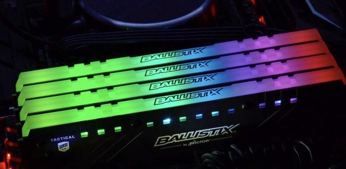 Crucial giới thiệu RAM Ballistix Tactical Tracer RGB đẹp ngất ngây