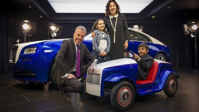 Đằng sau siêu xe tí hon Rolls-Royce là câu chuyện bất ngờ và đầy ý nghĩa - Ảnh 4.