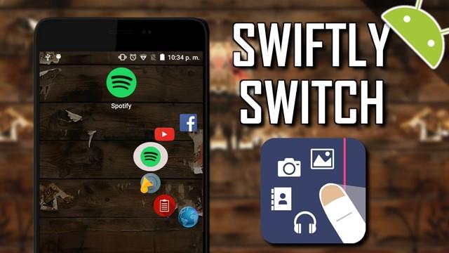 Thoải mái thao tác một tay trên smartphone màn hình to với Swiftly Switch - Ảnh 1.