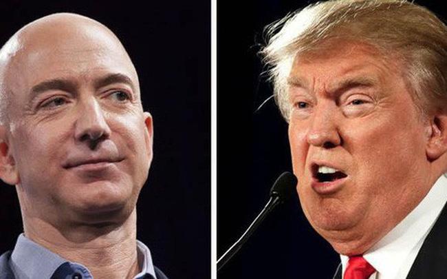 Bốn dòng tweet của ông Trump khiến sếp Amazon mất 16 tỷ USD trong 1 tuần - Ảnh 1.
