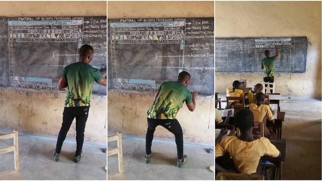 Microsoft chơi lớn, tặng 27 laptop cùng nhiều thiết bị khác cho thầy giáo dạy MS Word bằng cách vẽ lên bảng - Ảnh 5.