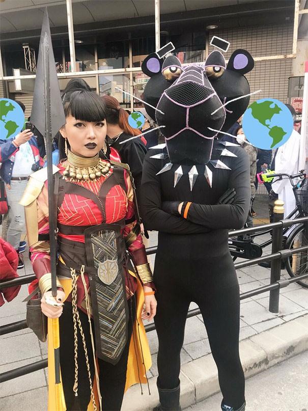 [Vui] 15 bộ đồ cosplay theo kiểu chơi chữ sẽ khiến bạn vừa tức vừa buồn cười - Ảnh 2.
