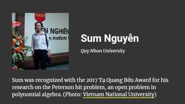Việt Nam có hai nhà khoa học lọt vào top 100 châu Á năm 2018 - Ảnh 2.