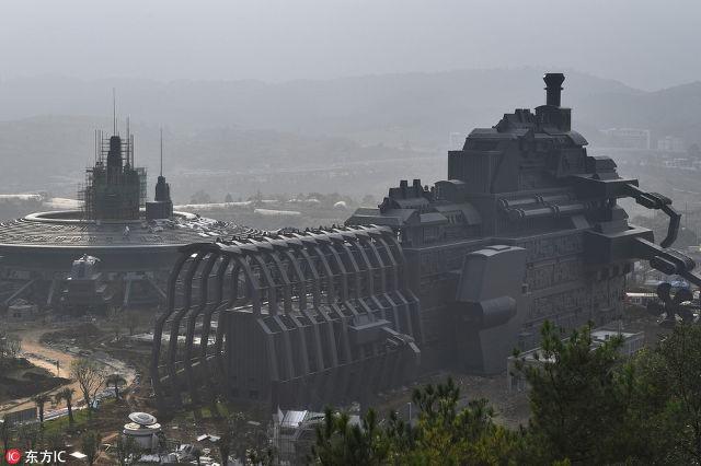 Công viên thực tế ảo 1,5 tỷ USD của Trung Quốc chính thức đi vào hoạt động - Ảnh 8.