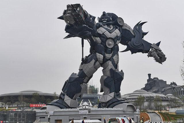 Công viên thực tế ảo 1,5 tỷ USD của Trung Quốc chính thức đi vào hoạt động - Ảnh 10.