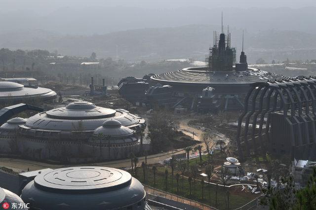 Công viên thực tế ảo 1,5 tỷ USD của Trung Quốc chính thức đi vào hoạt động - Ảnh 11.