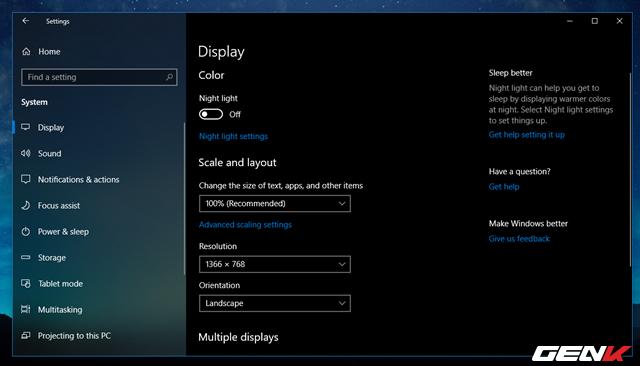 Cách thiết lập tự động kích hoạt tính năng lọc ánh sáng xanh khi đêm xuống trên Windows 10 April 2018 - Ảnh 4.