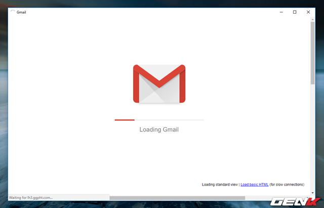 Bước 1: Truy cập vào tài khoản của bạn trên Gmail nền web.