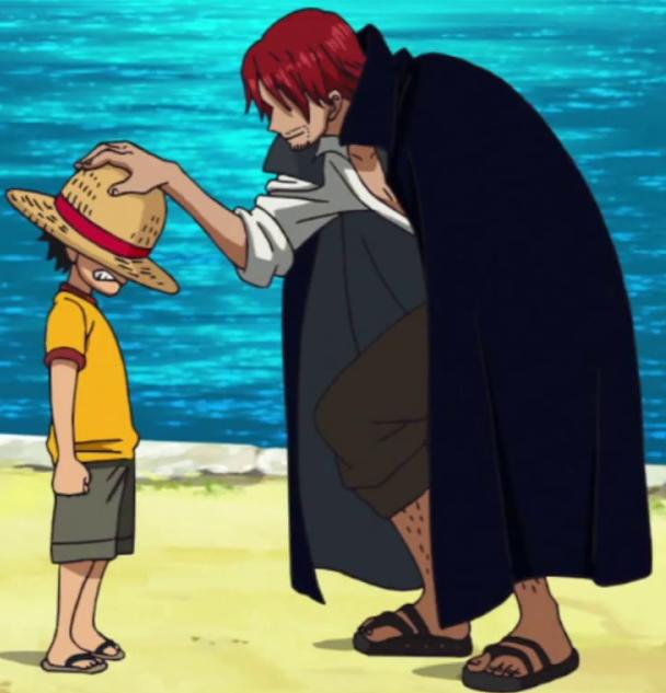 Shanks cũng là một người truyền lại ý chí cho Luffy