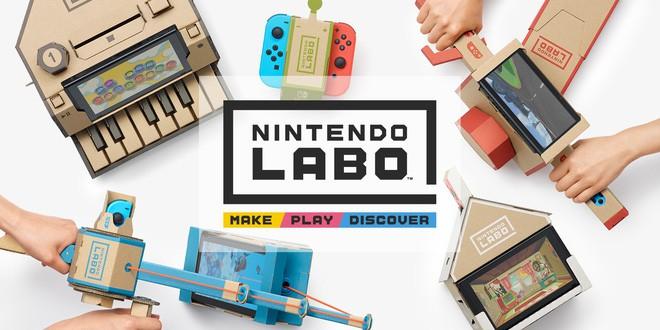 Bộ phụ kiện bìa cứng Labo dành cho hệ máy Nintendo Switch đã chính thức lên kệ vào tháng 4 vừa qua tại Nhật Bản, Mỹ và một số quốc gia Châu Âu.