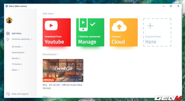 Không cần cáp kết nối, bạn vẫn có thể tải và đồng bộ video Youtube từ máy tính qua smartphone dễ dàng nhờ ứng dụng này - Ảnh 15.