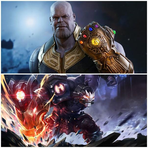 Thanos là nguồn cảm hứng để Timi Studio tạo ra Skud trong Liên Quân Mobile?