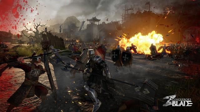 Game công thành chiến đỉnh cao Conquerors Blade đã cho đăng ký chơi thử, game thủ Việt hãy nhanh tay