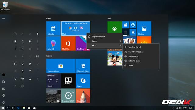 Trải nghiệm nhanh Windows 10 April 2018 Update: Fluent Design cực đẹp, Timeline tiện lợi - Ảnh 14.