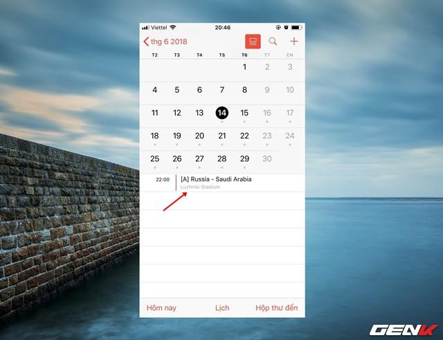 Mang cả lịch thi đấu World Cup 2018 lên smartphone với thủ thuật đơn giản này - Ảnh 8.