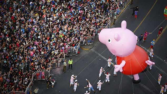 Peppa Pig, nhân vật hoạt hình Anh đã trở thành biểu tượng văn hóa hái ra tiền tại Trung Quốc - Ảnh 2.