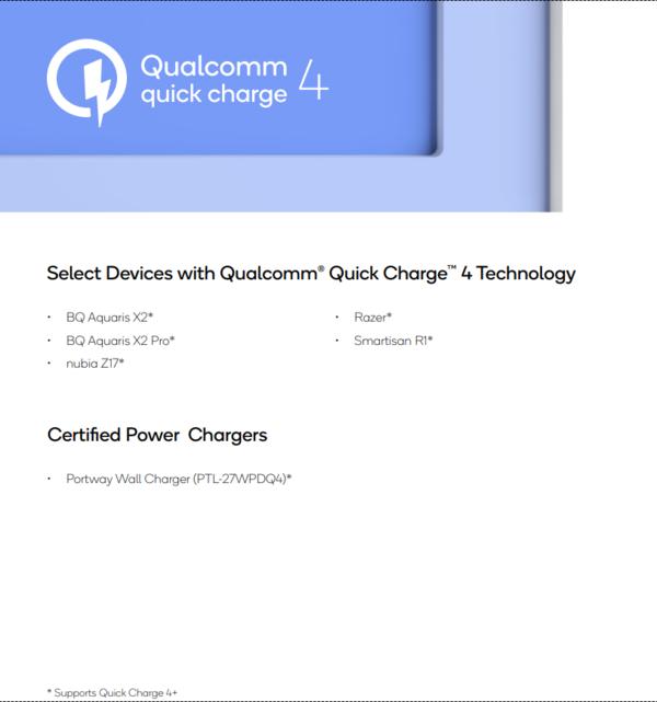 Lộ bằng chứng cho thấy Xiaomi Mi 8 sẽ hỗ trợ công nghệ sạc nhanh Quick Charge 4.0+ của Qualcomm - Ảnh 2.
