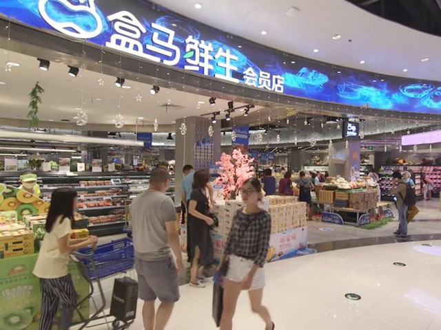 Siêu thị tương lai của Alibaba tại Trung Quốc đã vượt xa nước Mỹ: Giao hàng trong 30 phút, thanh toán qua nhân diện khuôn mặt - Ảnh 3.