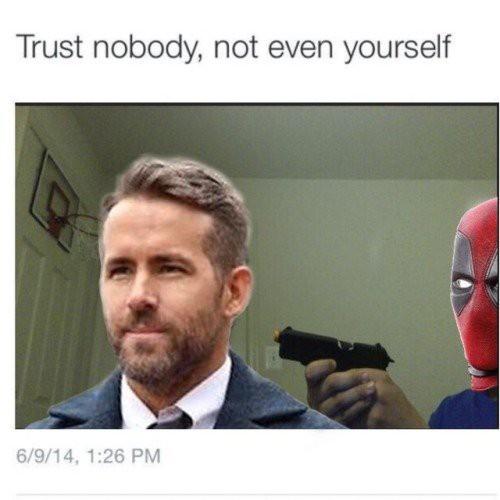 [Vui] Loạt ảnh chế lầy lội dành cho fan cuồng Deadpool 2 - Ảnh 5.