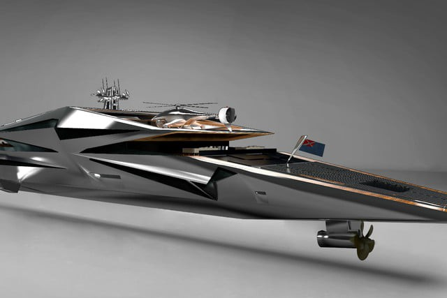 Cùng ngắm nhìn siêu du thuyền khổng lồ như bước ra từ những bộ phim khoa học viễn tưởng - Ảnh 6.