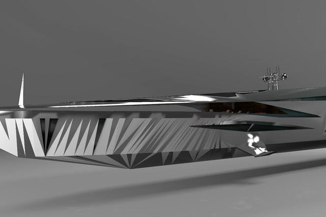 Cùng ngắm nhìn siêu du thuyền khổng lồ như bước ra từ những bộ phim khoa học viễn tưởng - Ảnh 5.
