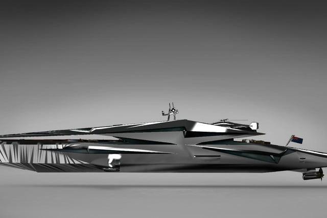 Cùng ngắm nhìn siêu du thuyền khổng lồ như bước ra từ những bộ phim khoa học viễn tưởng - Ảnh 4.