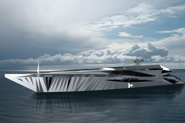Cùng ngắm nhìn siêu du thuyền khổng lồ như bước ra từ những bộ phim khoa học viễn tưởng - Ảnh 3.