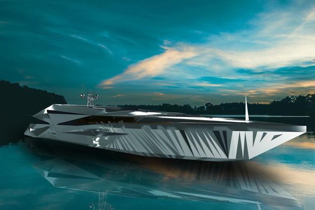 Cùng ngắm nhìn siêu du thuyền khổng lồ như bước ra từ những bộ phim khoa học viễn tưởng - Ảnh 1.