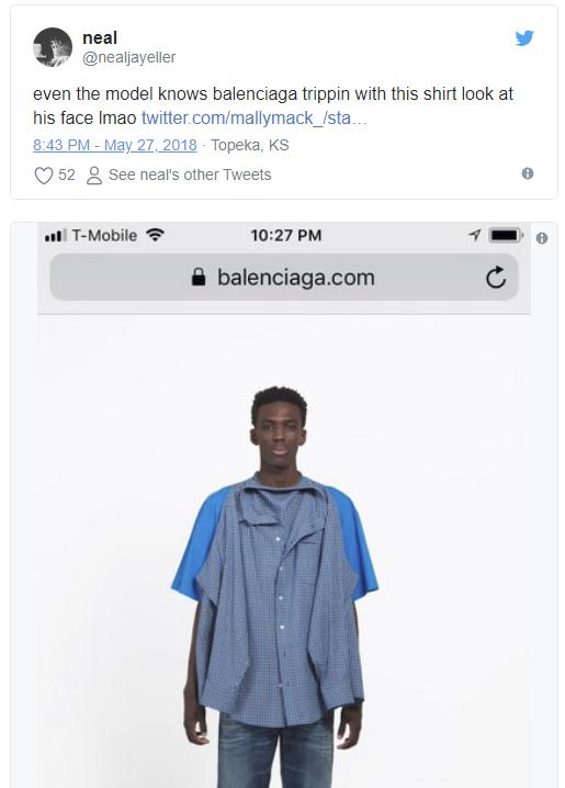 Cười ngất với chiếc áo sơ mi-phông giá 30 triệu đồng của Balenciaga - Ảnh 6.
