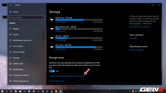 Cách để bạn lấy lại không gian lưu trữ sau khi nâng cấp lên Windows 10 April 2018 Update - Ảnh 4.