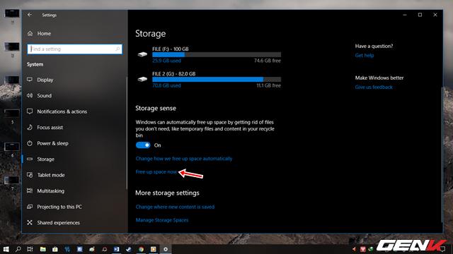 Cách để bạn lấy lại không gian lưu trữ sau khi nâng cấp lên Windows 10 April 2018 Update - Ảnh 8.